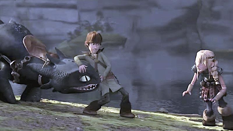 How to Train Your Dragon (2010) Sinkronizirano